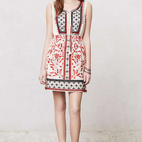 Anthropologie - Kasi Embroidered Dress