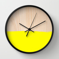 Sorbet V Wall Clock by Galaxy Eyes