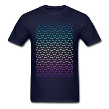 Minimal Geometry Hipster Lines (colorful/rainbow) T-Shirt