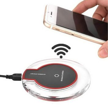 Universal Qi Wireless Charger Pad for Apple, Samsung  Mobile Phone