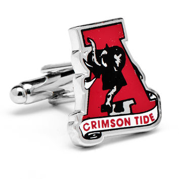 Vintage University of Alabama Crimson Tide Cufflinks