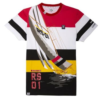 Sailing Competition  Colorblock Tee