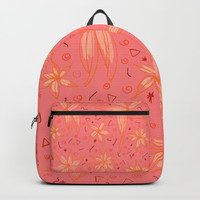Floral 5 Backpacks by NaturalColors