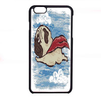 Flying Pug FOR IPHONE 6 CASE *NP*