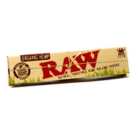"Raw ""Organic Hemp"" Kingsize Slim Rolling Papers"