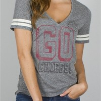 Women's NFL Kansas City Chiefs Tee T-Shirt by Junk Food