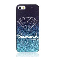ABC(TM) Fashion Cool Design Diamond Hard Back Plastic Case Cover For iphone 5 5G 5S