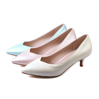 Sexy Thin Heel Pumps High Heels Fashion Women Shoes 1906