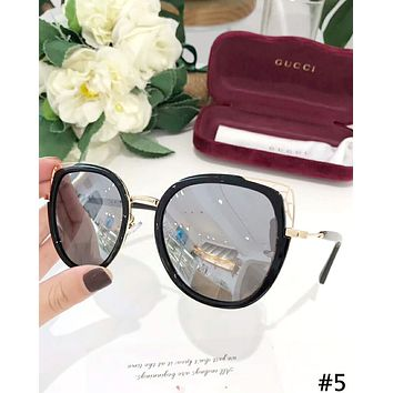 GUCCI 2019 new female personality color film driving polarized sunglasses #5