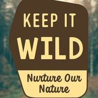 Posted Keep it Wild | Sticker
