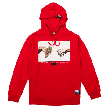 DGK Art Of Hustle Hooded Fleece - Red