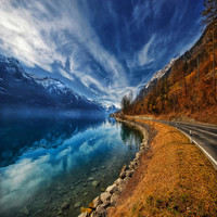 Road To No Regret Photograph by Philippe Sainte-Laudy - Road To No Regret Fine Art Prints and Posters for Sale