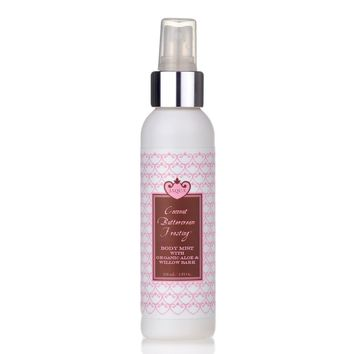 Coconut Buttercream Frosting Hydrating Body Mist with Organic Aloe & Willow Bark