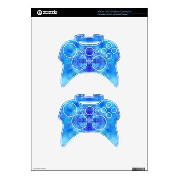 Blue Wings Xbox 360 Controller Skins