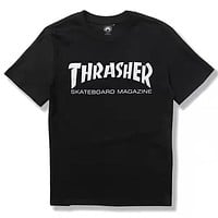 Boys & Men Thrasher  Fashion Casual Shirt Top Tee