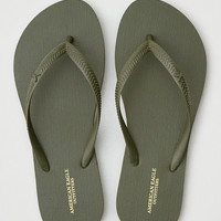 AEO Flip Flop , Dusty Olive