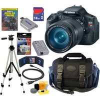 Canon - EOS Rebel T3i 18 MP CMOS Digital SLR Camera with EF-S 18-135mm f/3.5-5.6 IS Lens Kit - 5169B005