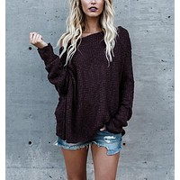 Winter Long Sleeve Sweater [11335953543]