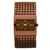 DKNY NY8394 Women's Brown Dial Stainless Steel Cuff Bracelet Analog Watch