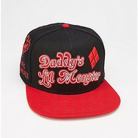 Daddys Lil Monster Suicide Squad Snapback Hat - Spencer's