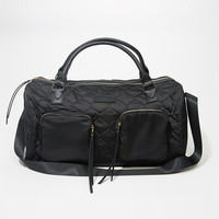 Womens Quilted Satin Duffle Bag | Womens New Arrivals | Abercrombie.com