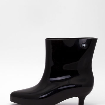 Melissa - Black Ankle Boot + Jeremy Scott