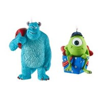 Hallmark Disney/Pixar Monsters University Sulley and Mike Christmas Ornaments, Set of 2