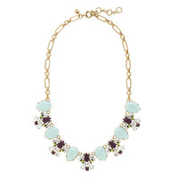 J.Crew Womens Linked Pear Stone Necklace