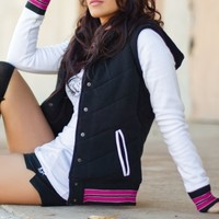 Metal Mulisha EMMA FLEECE JACKET: Maidens Fleece Swagger