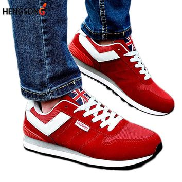 2017 New Spring Autumn Men Casual Shoes Trend Male Walking Shoes Low Lace-Up Flats Men Breathable Shoe Footwear 25-27.5cm