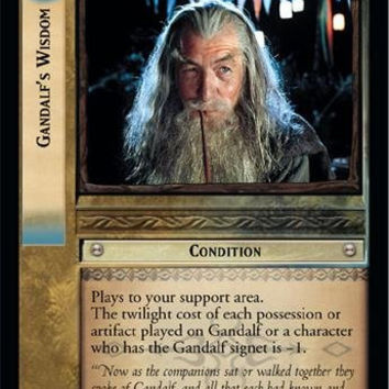 Lord of the Rings TCG - Gandalf's Wisdom - Mines of Moria