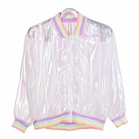 Holographic Rainbow Jacket