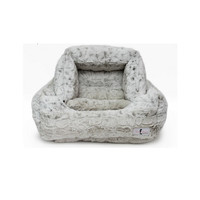 Luxe Bed — Snow Leopard