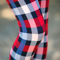 Winter Plaid Leggings