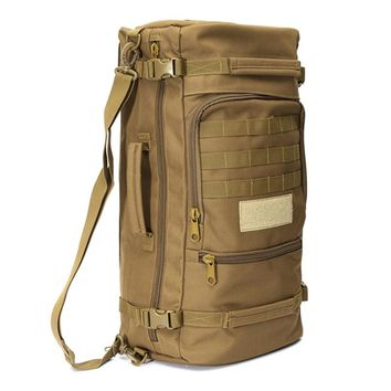 50L Large Capacity Tactical MOLLE Rucksack