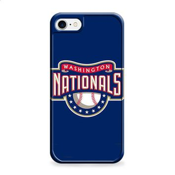 WASHINGTON NATIONAL BASEBALL LOGO BLUE iPhone 6 | iPhone 6S case