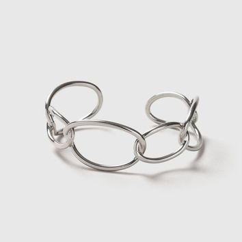 Large Link Chain Cuff