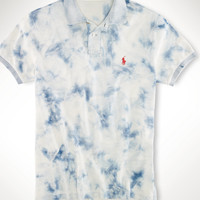 CUSTOM-FIT SPLATTER POLO SHIRT