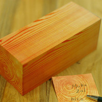Wooden Block Post-it Notes