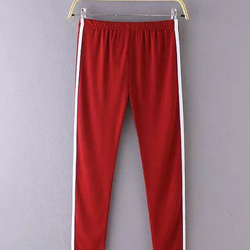 Side Stripes Sports Trousers Pants