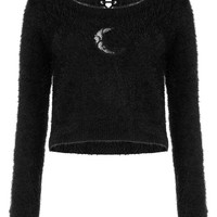 Obscura Fuzzy Knit Sweater [B]