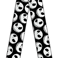 Disney Nightmare Before Christmas Jack Skellington Faces Adjustable Guitar Strap