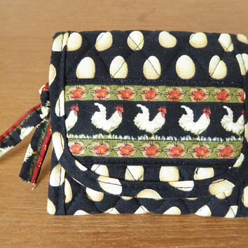 Vera Bradley Chanticleer pocket wallet, never used, retired pattern