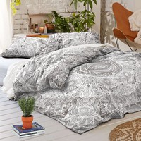 NEW Boho Hippie HAMSA Tapestry Full/Queen Duvet Cover SET