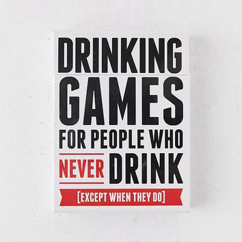 Drinking Games For People Who Never Drink | Urban Outfitters
