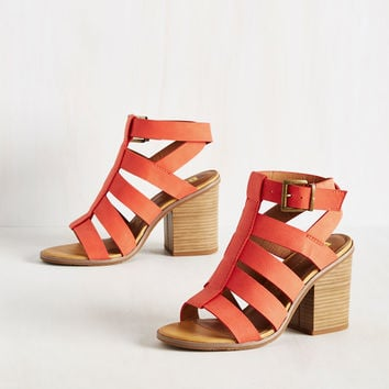 BC Footwear So Strappy Together Heel | Mod Retro Vintage Heels | ModCloth.com