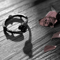 Thorns Black Rose Ring