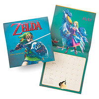 Legend of Zelda Wall Calendar