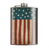 Old Glory flask by Trixie & Milo