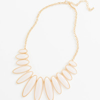 Gina Ivory Statement Necklace